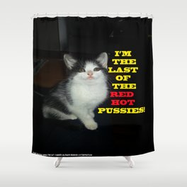 Sophia The Cat #2 [Tex's Owner] Shower Curtain