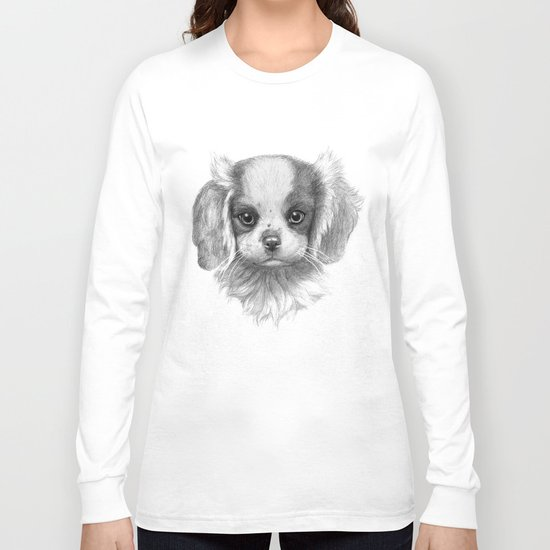 KING CHARLES SK096 Long Sleeve T-shirt