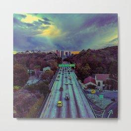 Freeway of Lost Angels Metal Print