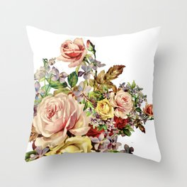 The Scents Of Heaven Throw Pillow