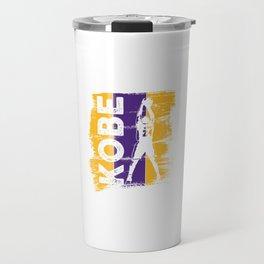 basketballer legend - Cute Black Mamba Basketball Lover Gift Travel Mug