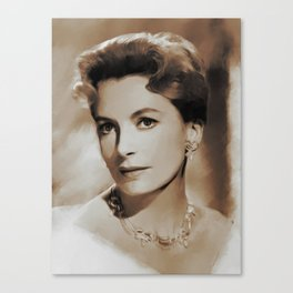 Hollywood Classics, Deborah Kerr, Actress Canvas Print