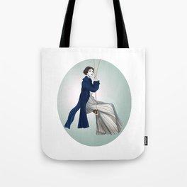 Fashion Illustration - Pride & Prejudice Tote Bag