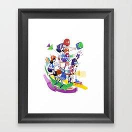 All Together Now! Framed Art Print