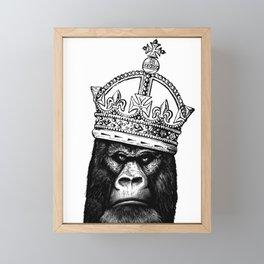 Kong Framed Mini Art Print