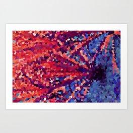 Crystall Fire  Art Print