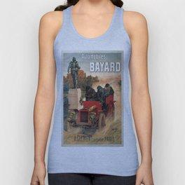 Vintage poster - Automobiles Bayard Unisex Tank Top