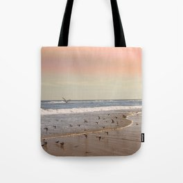 Pink Sandy Beaches Tote Bag