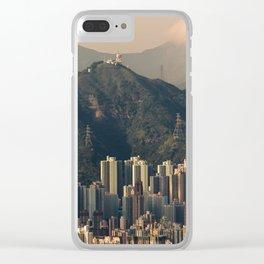HONG KONG 06 Clear iPhone Case