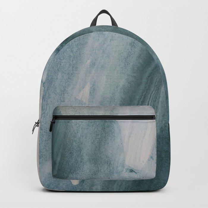 greyish brush strokes Backpack