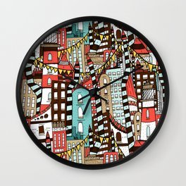 The City of Towers Wall Clock