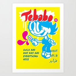 Tebabo1 Art Print
