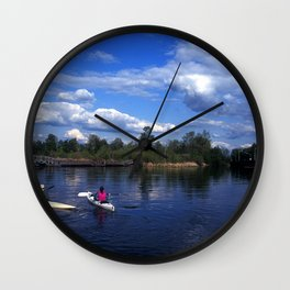 Portage Bay Wall Clock