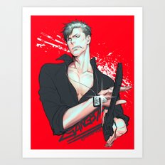 Nicolas Brown  Art Print