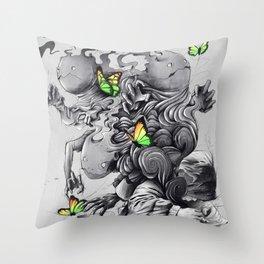 The Creator Throw Pillow