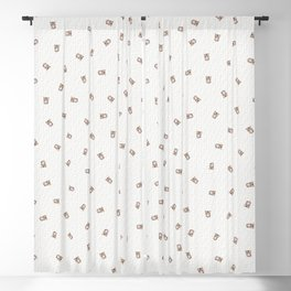 Bubble Gum Tiger Cub Blackout Curtain