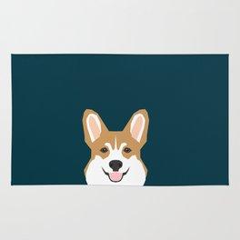 Teagan - Corgi Welsh Corgi gift phone case design for pet lovers and dog people Rug