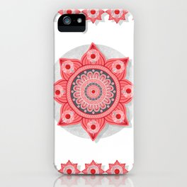 """Rose Flower Power ^_^"" iPhone Case"