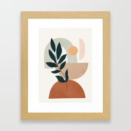 Soft Shapes IV Framed Art Print