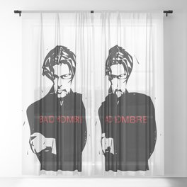 Bad Hombre Sheer Curtain