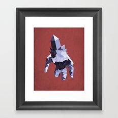 Crystal Golem Framed Art Print