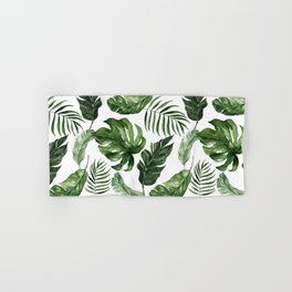 Tropical Leaf Hand & Bath Towel