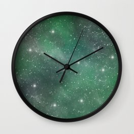 Cosmic Space Wall Clock