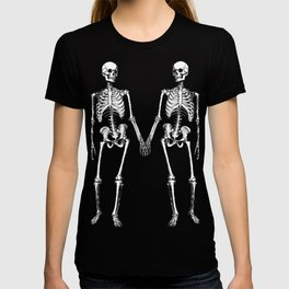 Two skeletons T-shirt