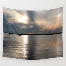 Sunset Over Narragansett Wall Tapestry