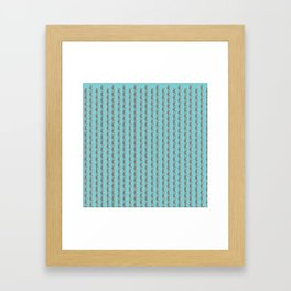 knot pattern 3 Framed Art Print
