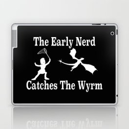 The Early Nerd Catches The Wyrm Laptop & iPad Skin
