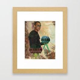 Jelly Man Framed Art Print