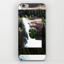 TREE FALLS iPhone Skin