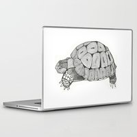 tortoise Laptop & iPad Skins featuring Tortoise by Carissa Tanton