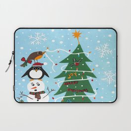 Christmas Team Work Laptop Sleeve