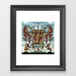 Dangoion Framed Art Print