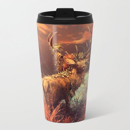 Breath of the wild Metal Travel Mug
