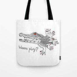 Handy Gator Tote Bag