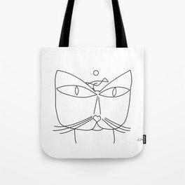 Paul Klee - Cat and Bird Tote Bag