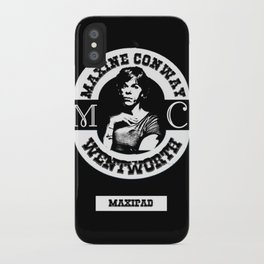 MAXINE CONWAY iPhone Case