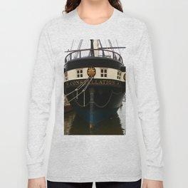USS Constellation Detail Long Sleeve T-shirt