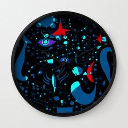 Joan Mirò Pattern #3 Wall Clock
