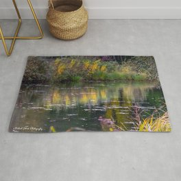 Channel in the Fall Rug