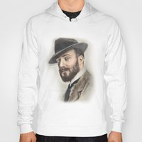 gentleman Hoodies featuring Gentleman by Rachel Zink