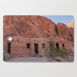 CCC Cabins-1, Valley of Fire State Park, Nevada Cutting Board