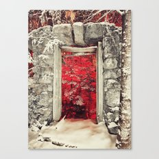 Hellish Warmth Canvas Print