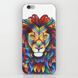 Mufasa in Technicolour iPhone Skin