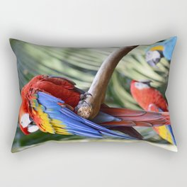 Araras Rectangular Pillow