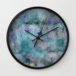 Frozen Smoke Wall Clock