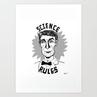 Bill Nye Forever Art Print